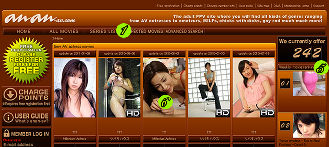 Choose your desired movies